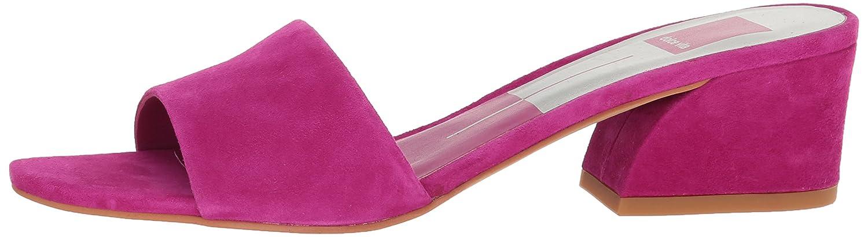 Dolce B06XGM477Y Vita Women's Rilee Slide Sandal B06XGM477Y Dolce 6 B(M) US|Magenta Suede 1070d2