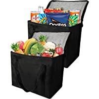 Insulated Grocery Bag Black