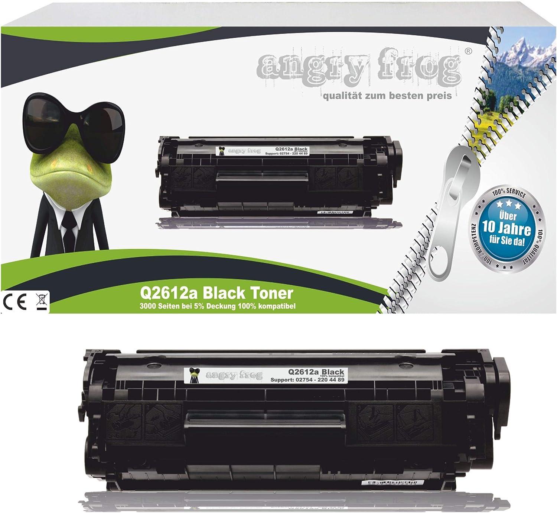 Black Markentoner Q2612a Kompatibel Für Hp Laserjet 1010 1012 1015 1020 1022 1022n 1022nw 3015 Und Weitere Bürobedarf Schreibwaren