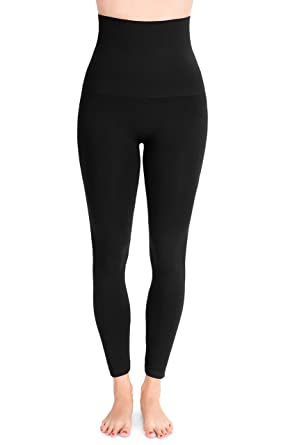 109e65c32c6b5 Belly Bandit - Mother Tucker Leggings for Women - Slim and Shape Your  Silhouette - Black