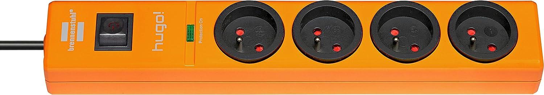 Brennenstuhl hugo 2 prises USB avec parasurtenseur//parafoudre cordon 2 m Blanc Bloc multiprise 3 prises