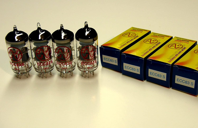 4 válvulas ECC83 (12AX7) JJ Electronics: Amazon.es: Instrumentos ...