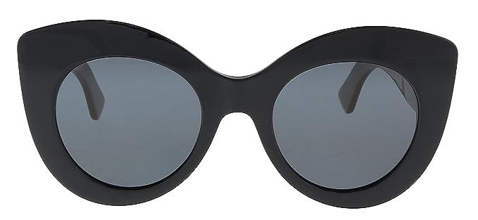 Amazon.com: anteojos de sol FENDI FF 306/S 0r60 negro café ...
