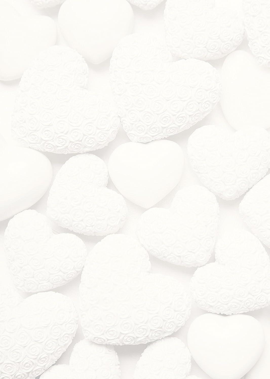 ... Weißes Brief Schreib Drucker Kopier Motiv Papier Mit Herzen; DIN A4,  100g, Hochwertig Bedruckt Für Einladungen Zur Hochzeit, Geburtstag,  Valentinstag, ...