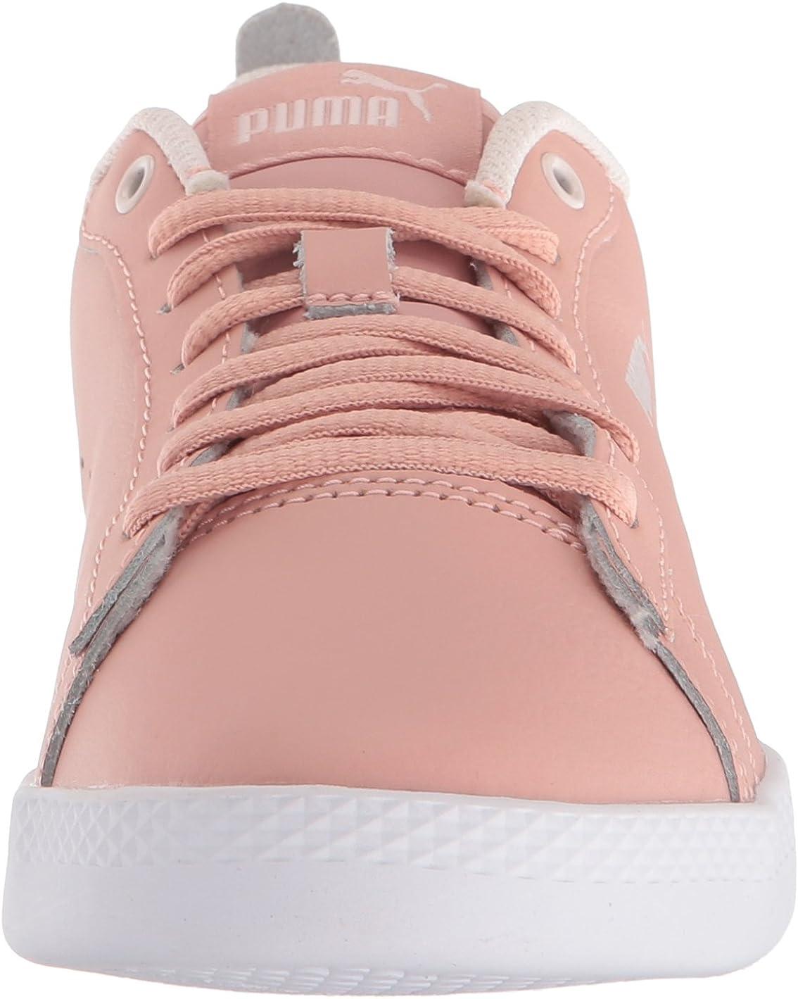 PUMA Women's Smash WNS V2 Leather Perf Sneaker: Amazon.co.uk