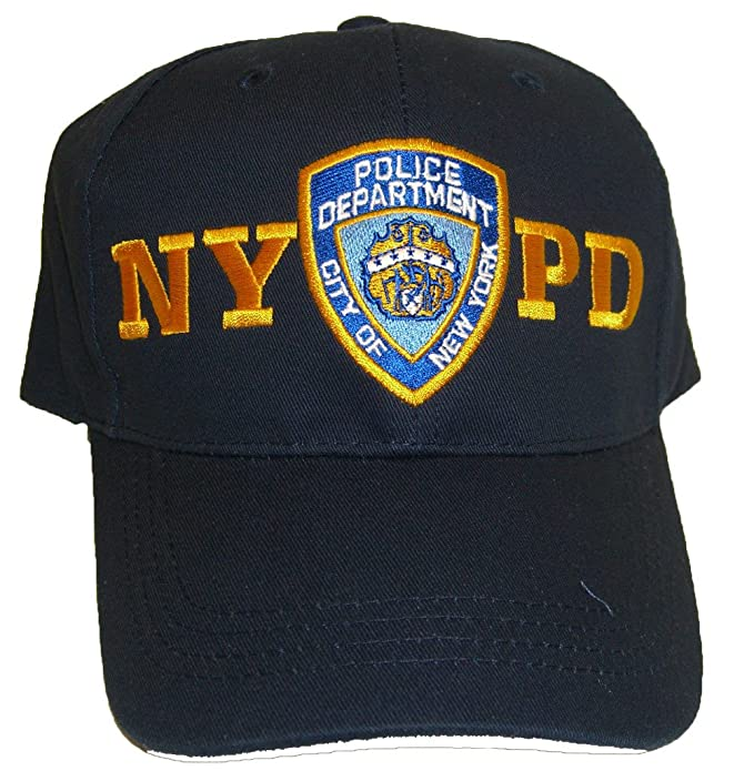 8da6b7453 Image Unavailable. Image not available for. Color: Navy Blue NYPD Baseball  Cap Hat Officially Licensed ...