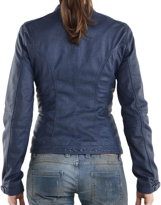 Womens Stylish Lambskin Genuine Leather Jacket WJ38