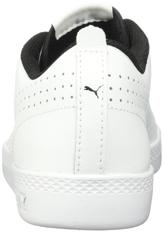 PUMA Women's Smash WNS v2 Leather Perf Sneaker White-puma B072QZZRSY 9 B(M) US Puma White-puma Sneaker White 4f080f