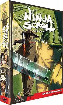 Ninja Scroll - Box (4 DVDs) [Alemania]: Amazon.es: -: Cine y ...