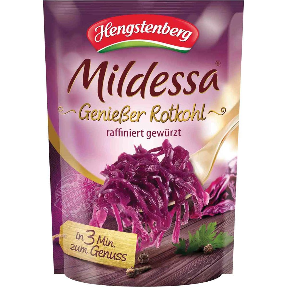 Hengstenberg Mildessa Red Cabbage in Pouch