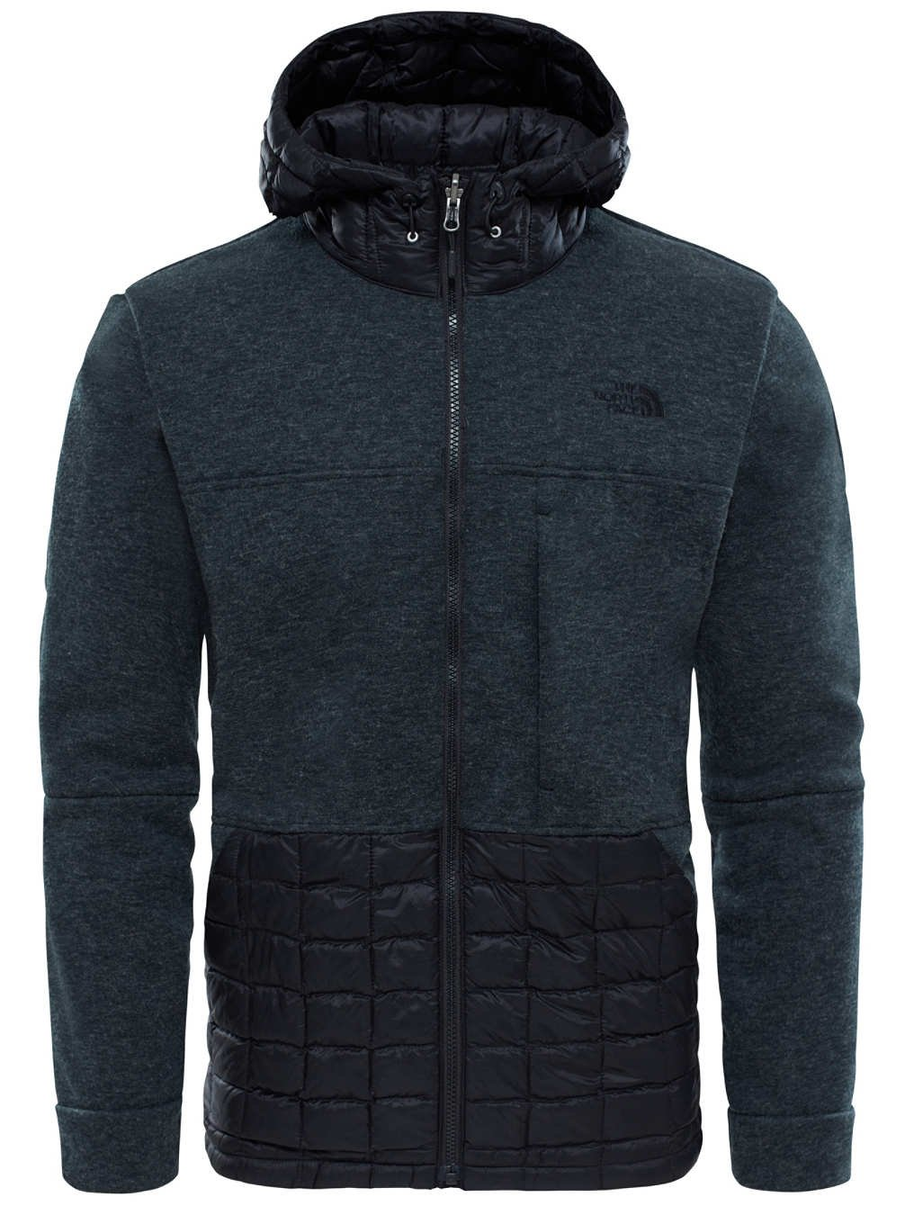 The North Face Trunorth Thermoball Hoodie Tnfblackwhitehther/Tnfblk