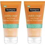 Neutrogena 露得清Visibly Clear 日常抗痘清洁去角质洁面凝胶 – 面部去角质抗痘 2 x 150ml