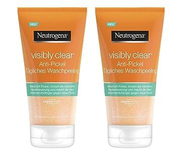 Neutrogena Visibly Clear Anti Pickel Tägliches Waschpeeling