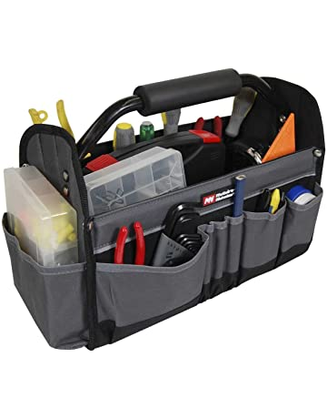 Oxford Cloth Waterproof Tool Bag Electrician Plumber Portable Screws Drill Bit Storage Pouch Hand Repair Tool Organizer Case Kit Tool Organizers