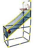 Mobiler Basketballkorb für drinnen und draußen, mit Ball und Pumpe, sportlicher Spielspaß für Kinder ab 3 Jahren