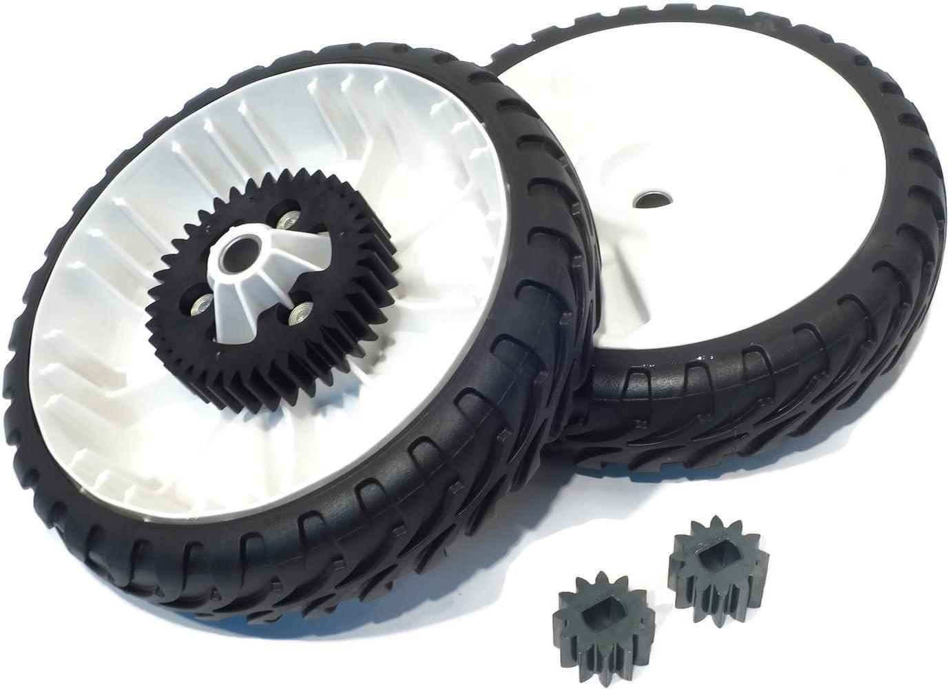 "OEM Toro  Lawnmower Rear drive Personal pace Wheels  8/""  138-3216 Set of 2"