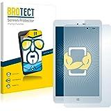 2x BROTECT HD-Clear Screen Protector Chuwi Hi8 Protector - Crystal-Clear, Anti-Fingerprint