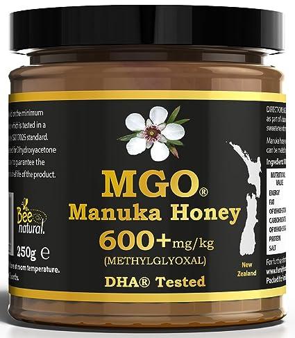 BEE NATURAL Manuka Honig / Miel de Manuka MGO® 600+ 250gr. MANUKA ...