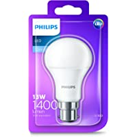 Philips LED Light Bulb (B22 Bayonet Cap 13.0W A60) - Cool White