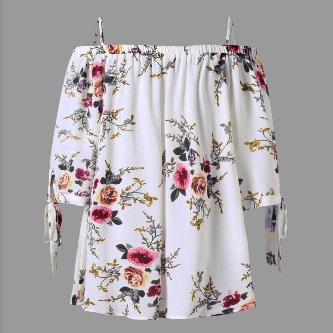 Amazon.com: Vanvler Clearance! Womens Plus Size Shirts Ladies Floral Tops -Cold Shoulder Blouse Casual (5XL, White): Garden & Outdoor