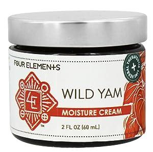 Four Elements, Cream Wild Yam, 2 Ounce