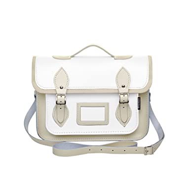 78500c3d38c3 Zatchels Womens/Ladies Handcrafted Two Tone Leather Top Handle ...