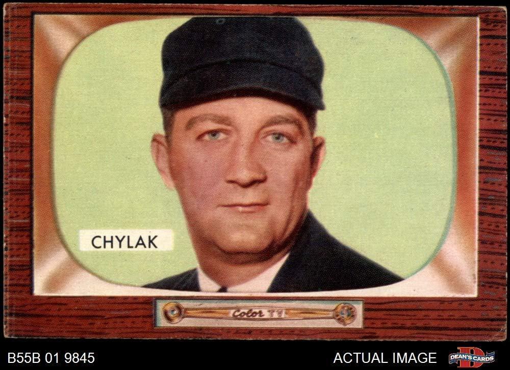 1955 Bowman # 283 Nestor Chylak Umpire (Baseball Card) Dean's Cards 4 - VG/EX Umpire 71d8YbhZxtLSL1000_