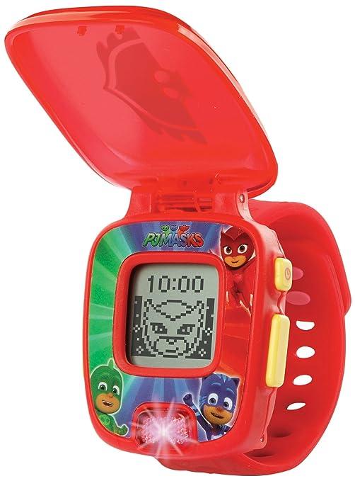 VTech PJ Masks Buhita, Reloj Digital Educativo Que estimula el Aprendizaje e incorpora minijuegos y