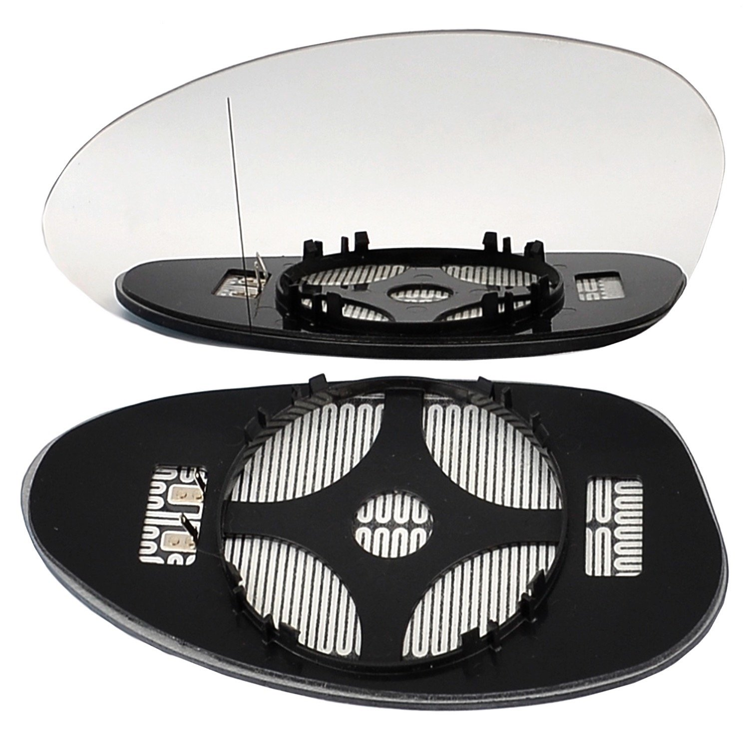 Left passegner side wing door clip mirror glass E90 Wide Angle Heated # BM3 S//HY0-2008175//590