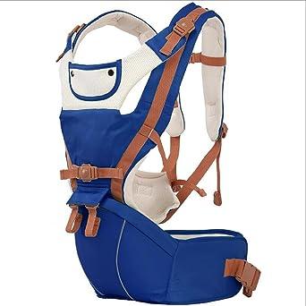 8bac8b83c4 Baby Tragerucksack Schulter Hocker einfach vier Jahreszeiten atmungsaktiv  Multifunktions Baby Produkte , Gem blue