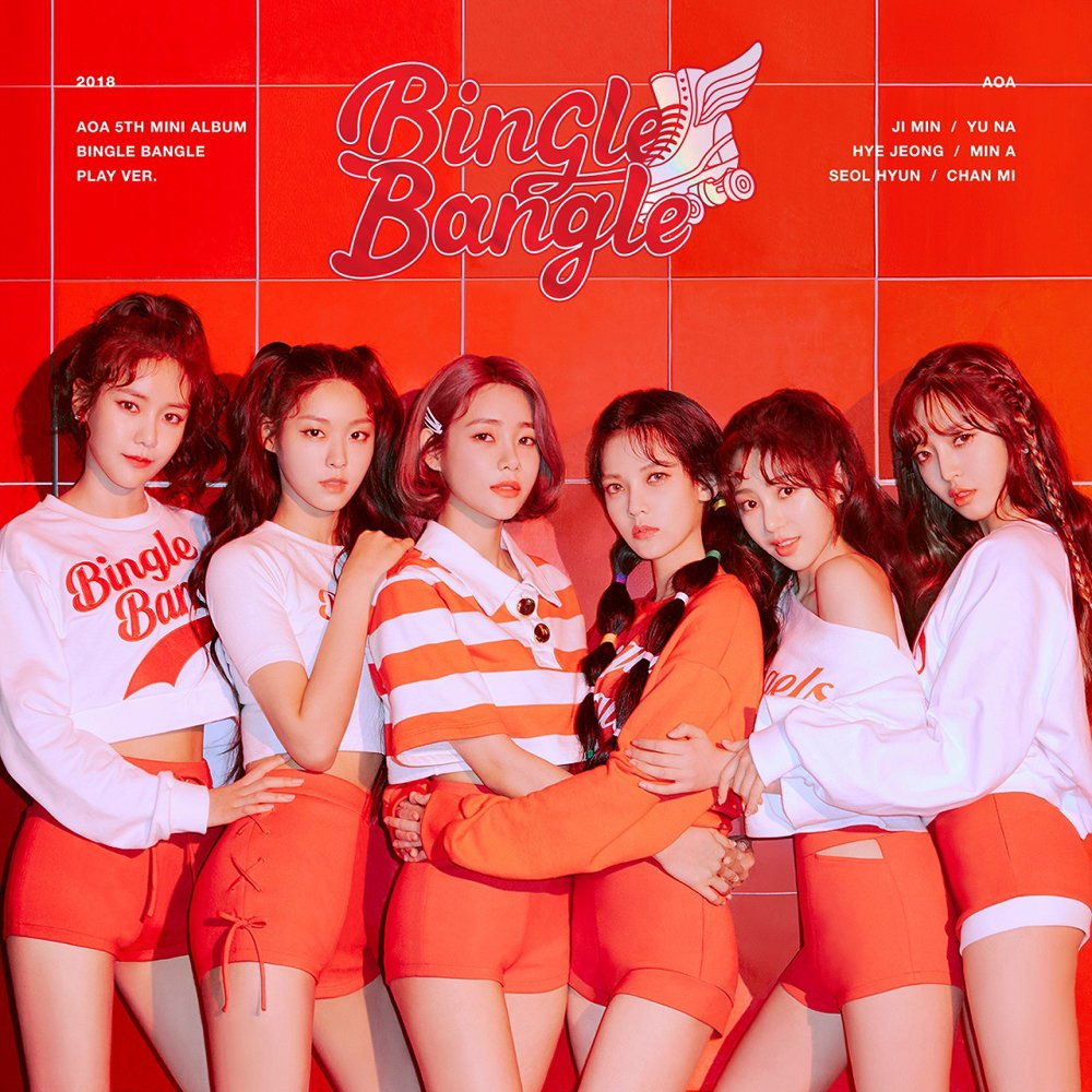 CD : Aoa - Bingle Bangle (play Version) (Asia - Import)