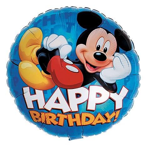 Amazon.com: Anagram Internacional Mickey feliz cumpleaños ...