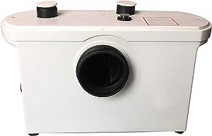 SANI MOVE Macerating Pump, Toilet Macerator Pump 600W Kitchen Waste Water Disposal Pump, Macerator Sewerage Sump Pump Waste Water Marine Toilet Disposal Laundry