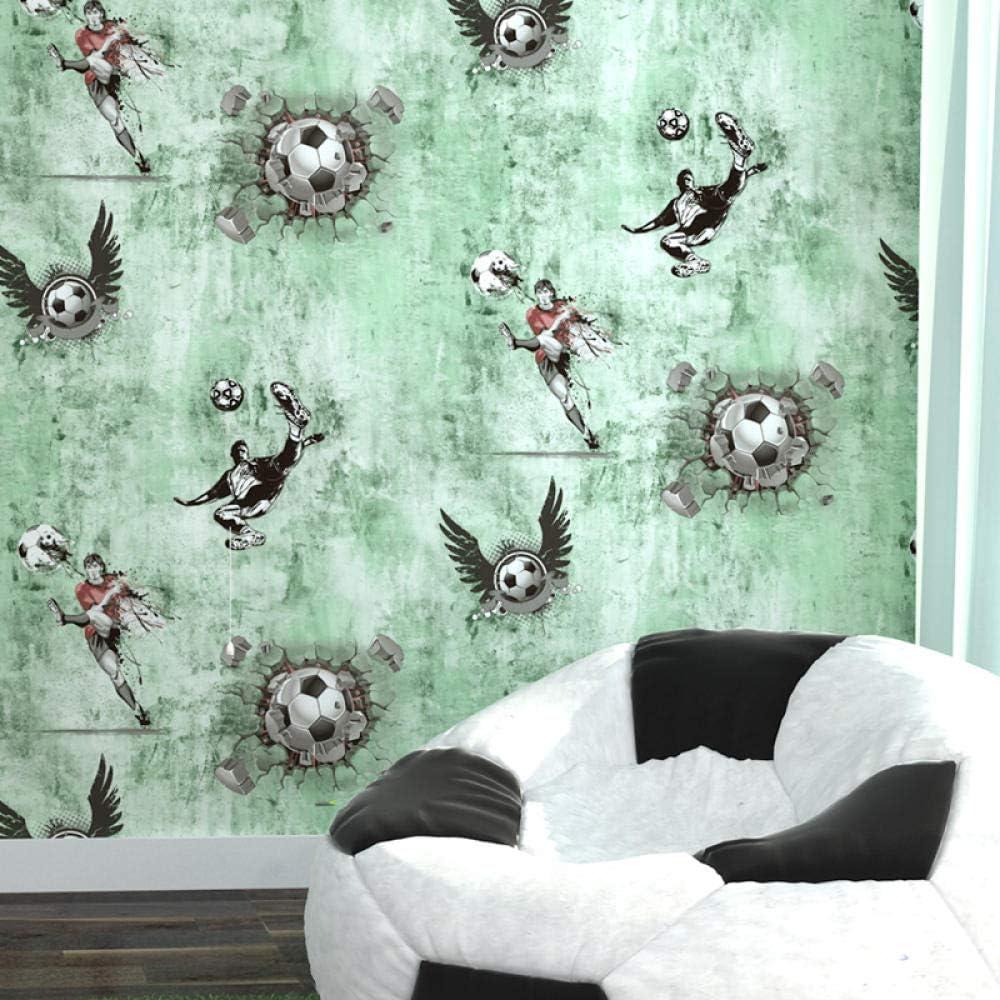 Papel pintado para pared con diseño de futbolín de dibujo animado ...