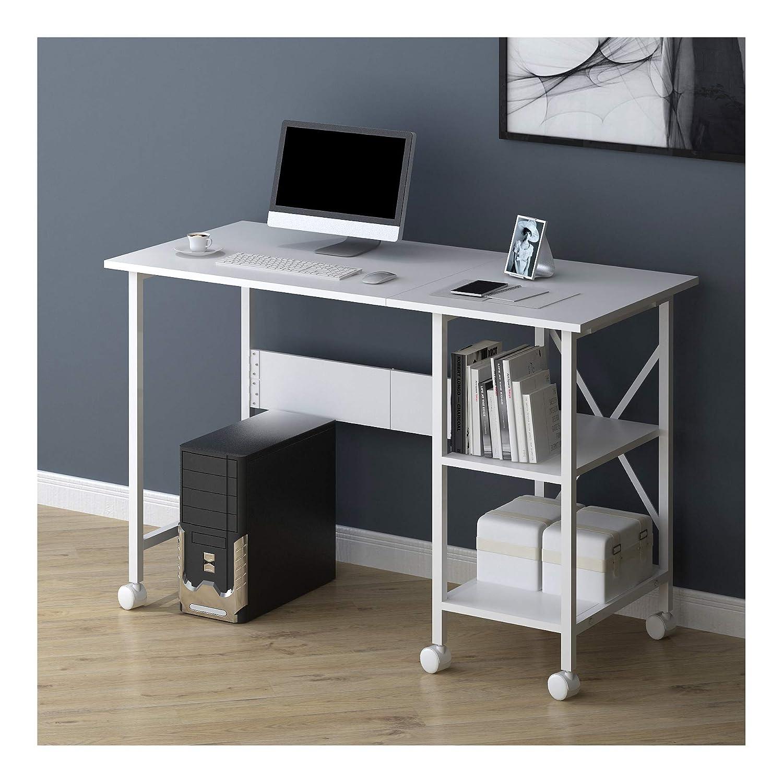 Cherry Tree Furniture 2 en 1 Mesa de escritorio extensible para ...