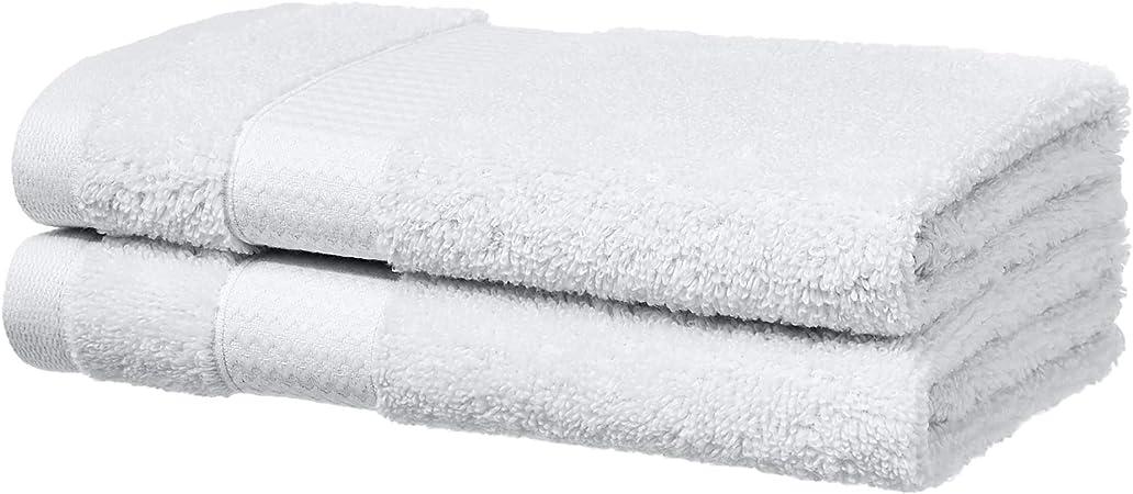 2 asciugamani per il viso Verde acqua Basics Performance