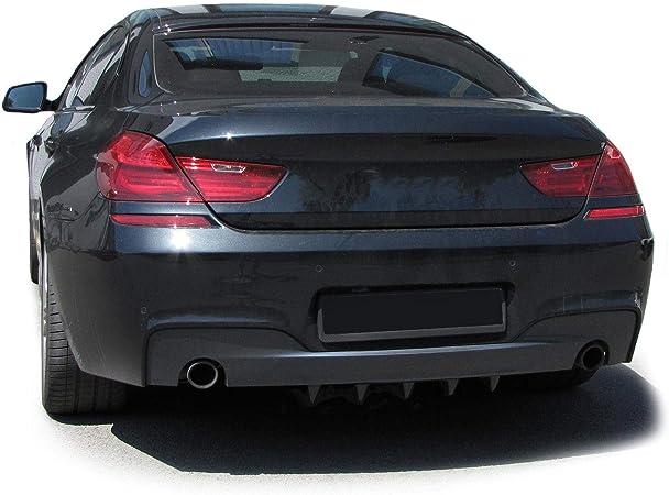 Tenzo R 33814 Universal Heck Diffusor Für Stoßstange Hinten Mit 5 Finnen Carbon Optik Auto