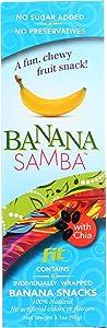 Banana Samba, Snacks Fruit Banana Fit, 3.1 Ounce