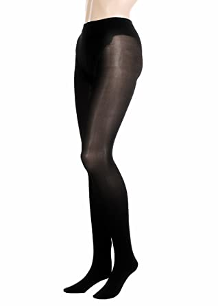 d6c9d60656198 GLAMORY Silk Skin 50 Tights plus Size at Amazon Women s Clothing store