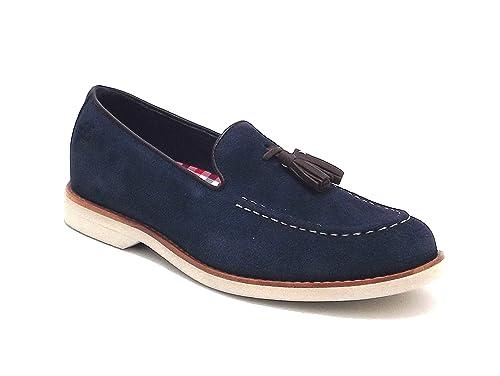 Timberland - Mocasines para hombre Azul azul 41: Amazon.es: Zapatos y complementos