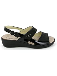 Grunland SE0156 Esta Sandalo Donna P. Nero 40