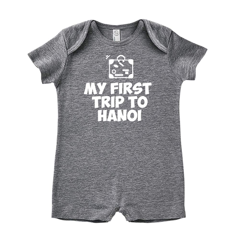 Baby Romper Mashed Clothing My First Trip to Hanoi