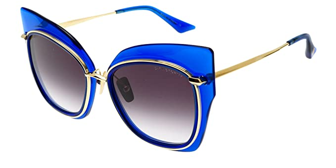 Dita Gafas de Sol STORMY ELECTRIC BLUE K GOLD/DARK GREY ...