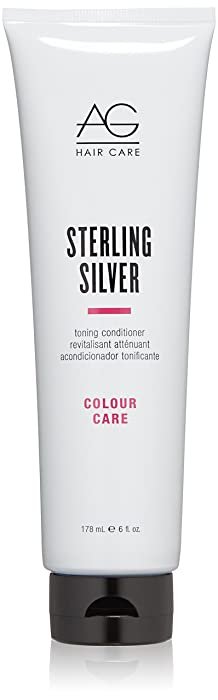 AG Hair Colour Care Sterling Silver Toning Conditioner, 2 Fl Oz
