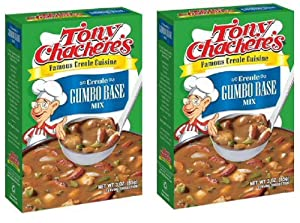 Tony Chachere's Creole Gumbo Base Mix, 3 Ounces (Pack of 2)