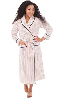 a56b493bc5 PajamaGram Soft Womens Long Robes - Jersey Knit Long Robes for Women ...