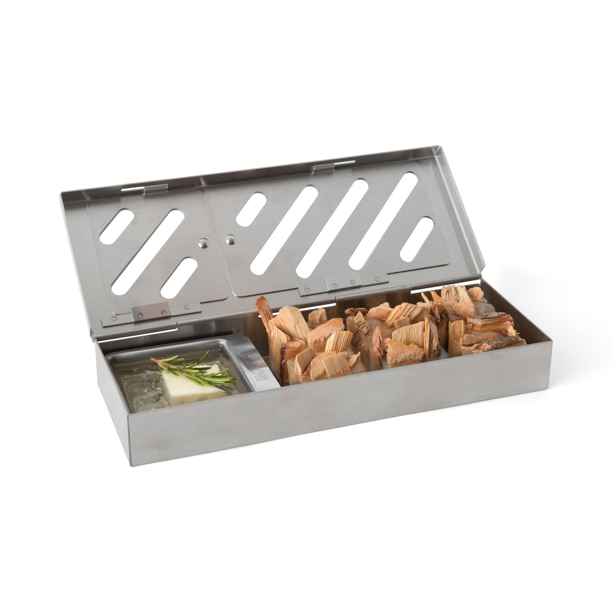 Taylor Precision Products 849GW Durable Grill Smoker Box (3 Piece), 0 by Taylor Precision Products (Image #7)