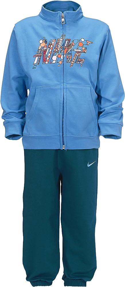 Nike YA76 J Crew Wu Inf Chándal, Unisex niños, Azul/Verde, 9-12 ...