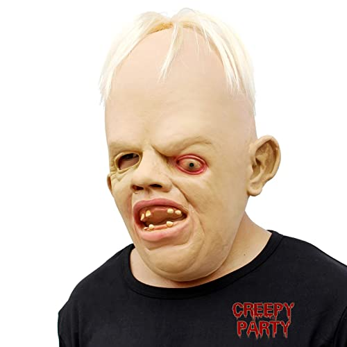 CreepyParty Deluxe Novelty Halloween Costume Party Latex Goonies Sloth Head Mask