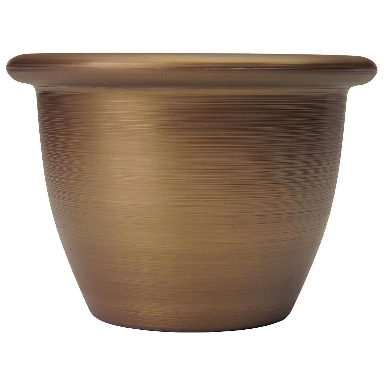 Listo SAA12001P04 Sevilla Planter, Majestic Bronze, 12-Inch Width